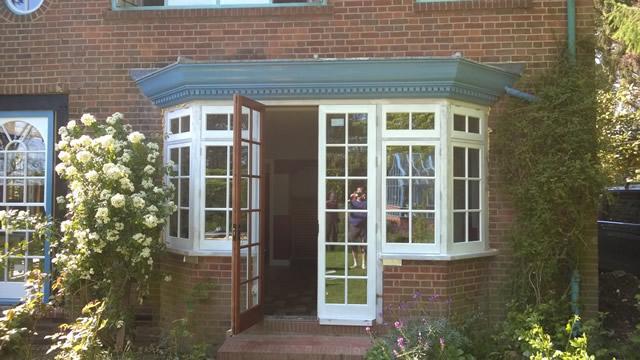 Bay Window & Door Restoration in Slough