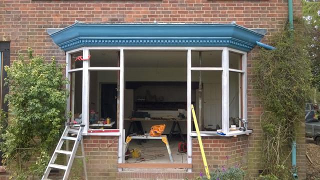 Bay Window Mid Restoration