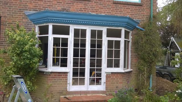 Bay Window Restoration after