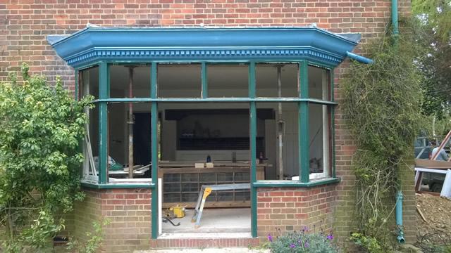Bay Window Restoration in Stoke Poges