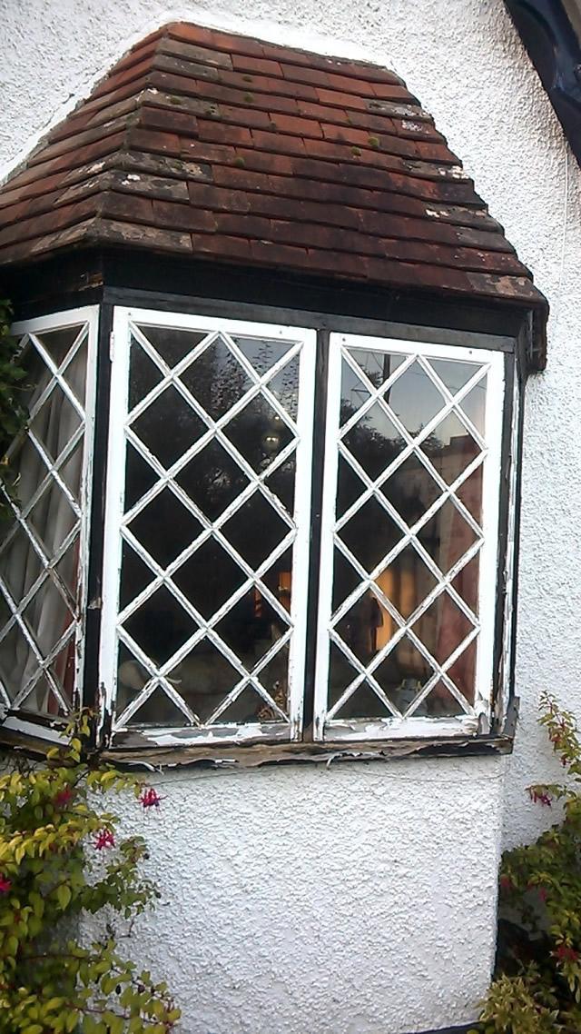 New bay window before