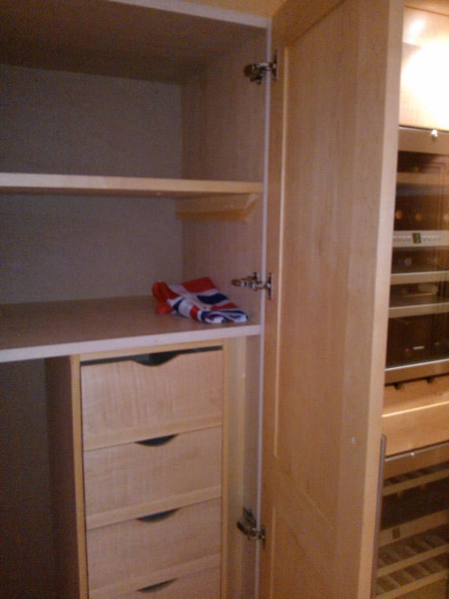 Bespoke Fitted Cupboard in Surrey