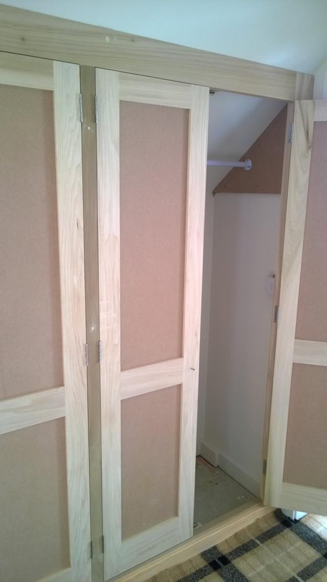 Bespoke built in wardrobes during 2